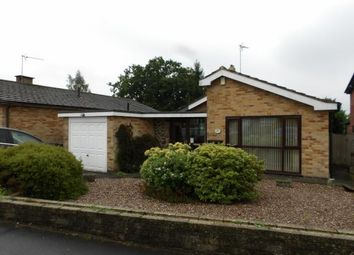 Thumbnail 3 bed bungalow for sale in Oakham Drive, Coalville