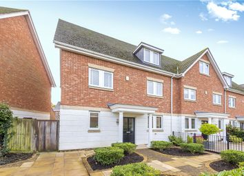 4 bed end terrace house for sale in Lakeside Drive, Chobham, Woking, Surrey GU24