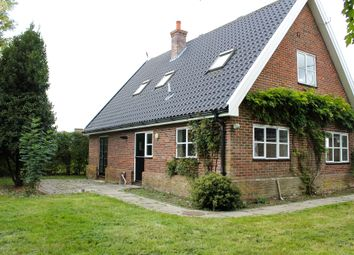 Thumbnail 4 bed detached house for sale in Station Road, Brampton, Beccles