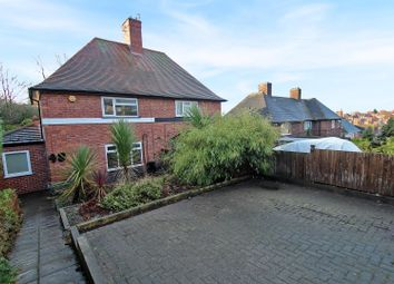 Thumbnail 2 bed semi-detached house for sale in Greenwood Road, Nottingham