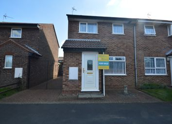 Thumbnail 3 bed semi-detached house for sale in Medeswell, Hemsby, Great Yarmouth