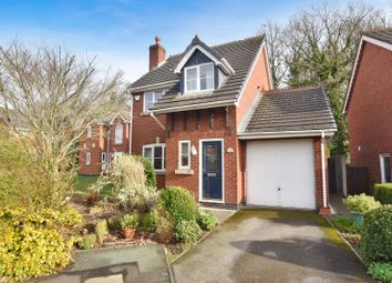 Thumbnail 3 bed detached house for sale in Bronington Close, Manchester