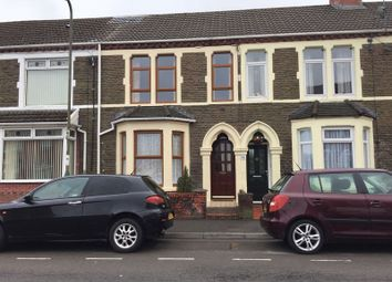 Thumbnail 3 bed terraced house to rent in Bartlett Street, Caerphilly