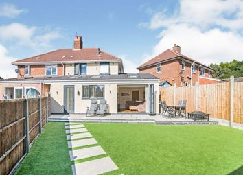 Thumbnail 3 bed semi-detached house for sale in Fletton Grove, Kings Heath, Birmingham, West Midlands