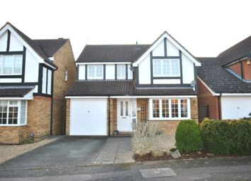 Thumbnail 4 bed detached house for sale in Kristiansand Way, Letchworth Garden City