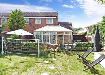 Thumbnail 3 bed end terrace house for sale in Old Barn Road, Leybourne, West Malling, Kent