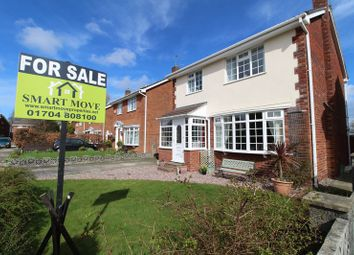 Thumbnail 4 bed detached house for sale in Fell View, Crossens, Crossens, Southport