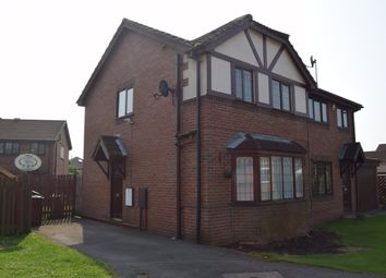 Thumbnail 3 bed semi-detached house to rent in Parklands Avenue, Horbury Bridge