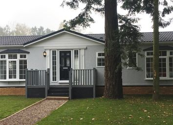 Thumbnail 2 bed mobile/park home for sale in Stourport Road, Bromyard, Herefordshire