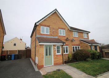 Thumbnail 3 bed semi-detached house for sale in Kingfisher Way, Fleetwood