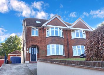 Thumbnail 4 bed semi-detached house for sale in Canterbury Road, Sittingbourne