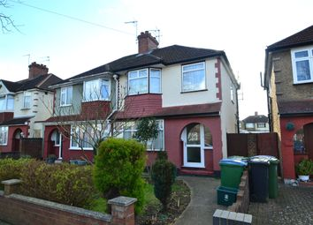 Thumbnail 3 bed semi-detached house to rent in Perivale Gardens, Watford