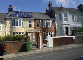 Thumbnail 3 bedroom terraced house to rent in Hermitage Road, Plymouth
