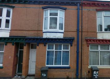 Thumbnail 3 bed terraced house to rent in Beckingham Road, Evington, Leicester