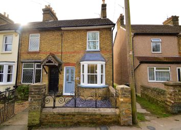 Thumbnail End terrace house for sale in Rochester Road, Burham, Rochester