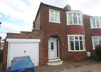 Thumbnail 3 bed semi-detached house to rent in Kendal Road, Stockton-On-Tees