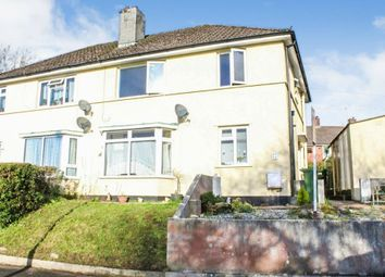 Thumbnail 1 bed flat for sale in Dumfries Avenue, Plymouth, Devon
