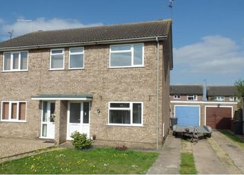 Thumbnail 3 bed semi-detached house for sale in Borrowdale Close, Peterborough
