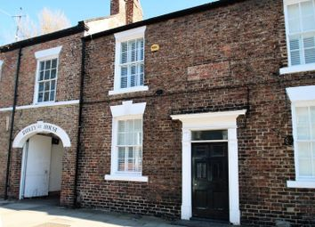 Thumbnail 2 bed terraced house for sale in Manor House Mews, High Street, Yarm