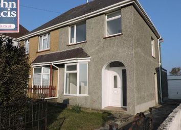 Thumbnail 3 bedroom semi-detached house to rent in Mayhill Road, Swansea