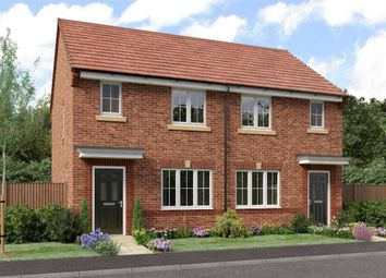 "Thumbnail 2 bed semi-detached house for sale in ""The Yare"" at Sadberge Road, Middleton St. George, Darlington"