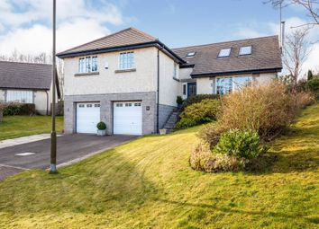 Thumbnail 5 bed detached house for sale in Millbrae, Gargunnock, Stirling
