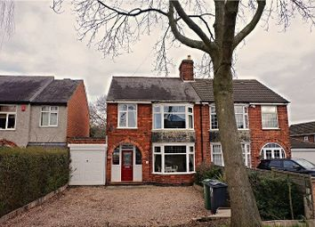 Thumbnail 3 bed semi-detached house for sale in Leicester Road, Thurcaston