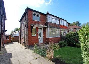 Thumbnail 3 bed semi-detached house for sale in Newlands Drive, Prestwich, Manchester