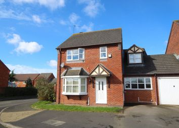Thumbnail 3 bedroom detached house for sale in Dobson Lane, Whitnash, Leamington Spa
