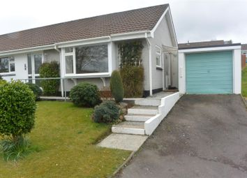 Thumbnail 2 bed semi-detached bungalow to rent in Eastfield Way, St. Austell