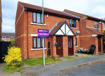 Thumbnail 2 bedroom end terrace house for sale in Stanton Close, Orpington