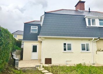 Thumbnail 3 bedroom semi-detached house for sale in Elfed Road, Mayhill, Swansea