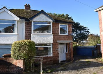 Thumbnail 3 bed semi-detached house for sale in Rivermead Road, St Leonards, Exeter
