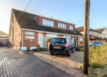 Thumbnail 3 bed semi-detached house for sale in Bouldrewood Road, Benfleet