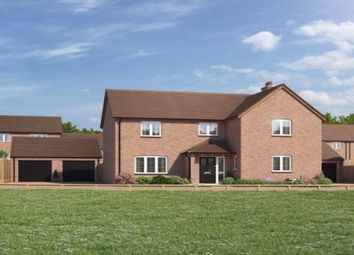 Thumbnail 4 bed detached house for sale in Bransford Road, Rushwick, Worcester