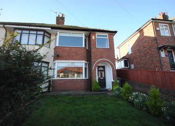 Thumbnail 3 bedroom property to rent in Sandhurst Avenue, Bispham, Blackpool