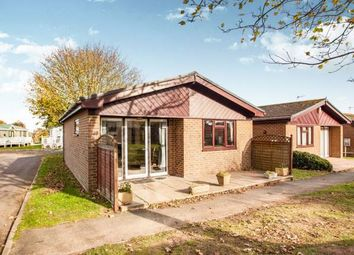 Thumbnail 2 bed bungalow for sale in St. Margarets Holiday Park, Reach Road, Dover, Kent
