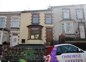 Thumbnail 3 bed terraced house for sale in Gilfach Road, Penygraig, Tonypandy