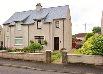 Thumbnail 3 bed semi-detached house for sale in 11 Challoch Crescent, Leswalt
