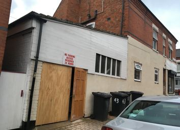 Thumbnail Parking/garage to let in Dronfield Street, Leicester