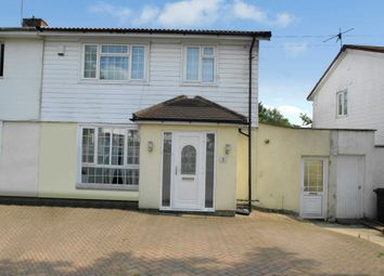 Thumbnail 3 bed semi-detached house to rent in Montgomery Avenue, Hemel Hempstead