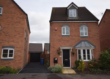 Thumbnail 4 bed detached house for sale in Merton Drive, Derby