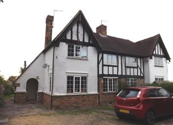 Thumbnail 2 bed semi-detached house for sale in Bleak Hall Cottages, London Road, Biggleswade, Bedfordshire