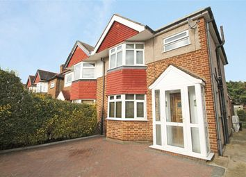 Thumbnail 3 bed semi-detached house to rent in St. Vincent Road, Whitton, Twickenham