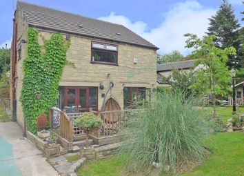 Thumbnail 4 bed detached house for sale in Dinting Vale, Glossop