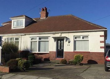 Thumbnail 2 bed semi-detached bungalow for sale in Fairholme Avenue, South Shields