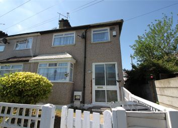 Thumbnail 3 bedroom end terrace house to rent in Stanley Road, Swanscombe, Kent