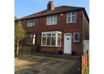 Thumbnail 3 bed semi-detached house for sale in Collingham Road, Rowley Fields Leicester
