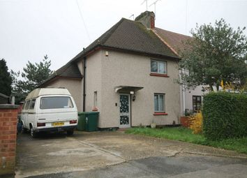 Thumbnail 3 bed semi-detached house for sale in Ashford Close, Ashford, Surrey
