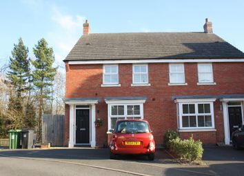 Thumbnail 4 bed town house to rent in Evesham Road, Headless Cross, Redditch